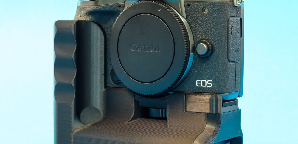 Battery Grip for Canon EOS M5 by CustomBatteryGrips available in our online store