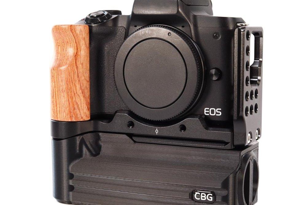 Custom Battery Grips Battery Add-On for Canon EOS M50 SmallRig L-bracket