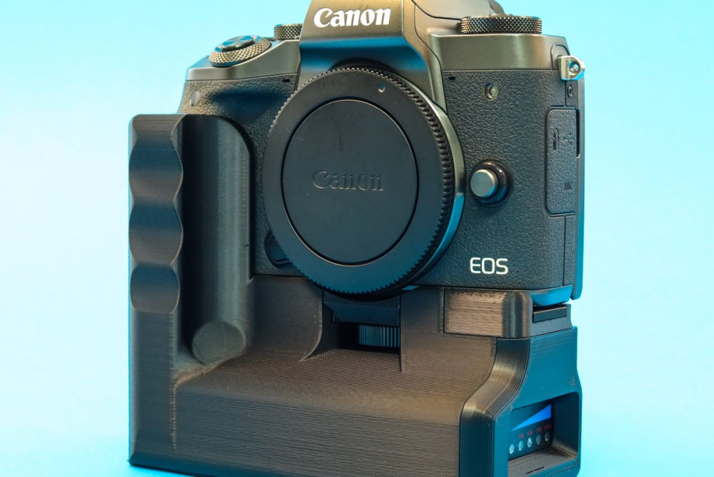 Canon EOS M5 Battery Grip by CustomBatteryGrips available in our online store