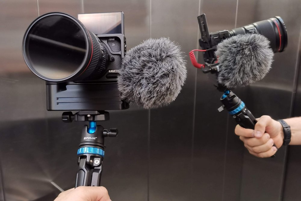 One of the best vlogging setups we had in our hands. Is it bettet for vlogging than EOS RP?
