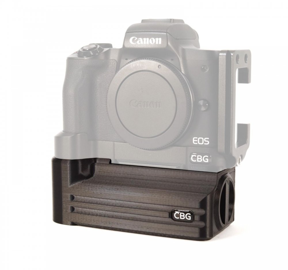 Battery Add-On for Canon EOS M50 L-Bracket