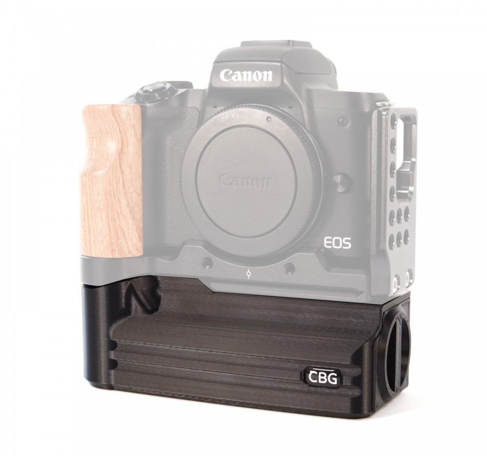 Battery Add-On for Canon EOS M50 SmallRig L-Bracket