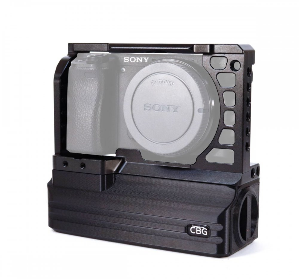 Cage and Battery Add-On for Sony A6000 A6300 A6400 A6500