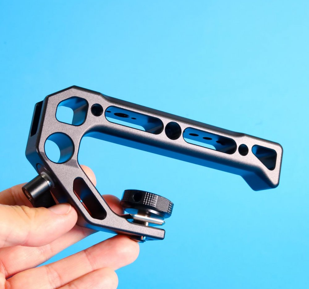 Universal Camera Top Handle Grip With ARRI Locating Mount