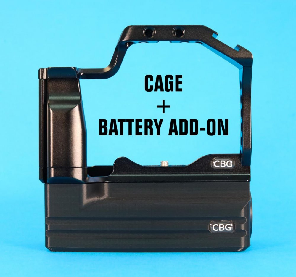 Cage + Battery Add-On For Canon EOS M50