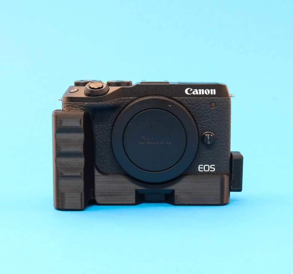 Extension Grip With Extra Cold Shoe for Canon EOS M6 mark II