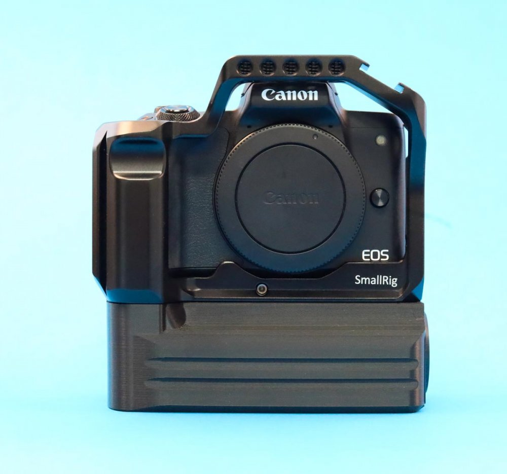 Canon EOS M50 SmallRig 2168B Cage Battery Add-On