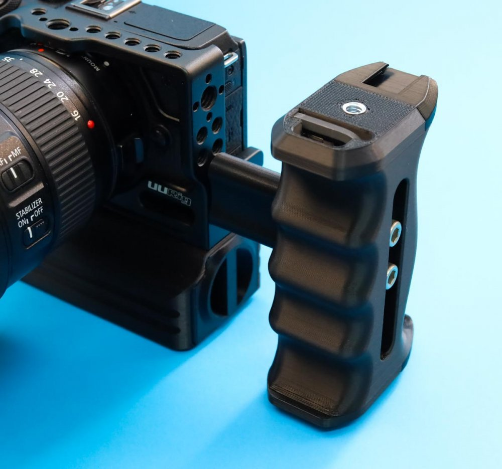 Universal Camera Cage Side Grip Handle