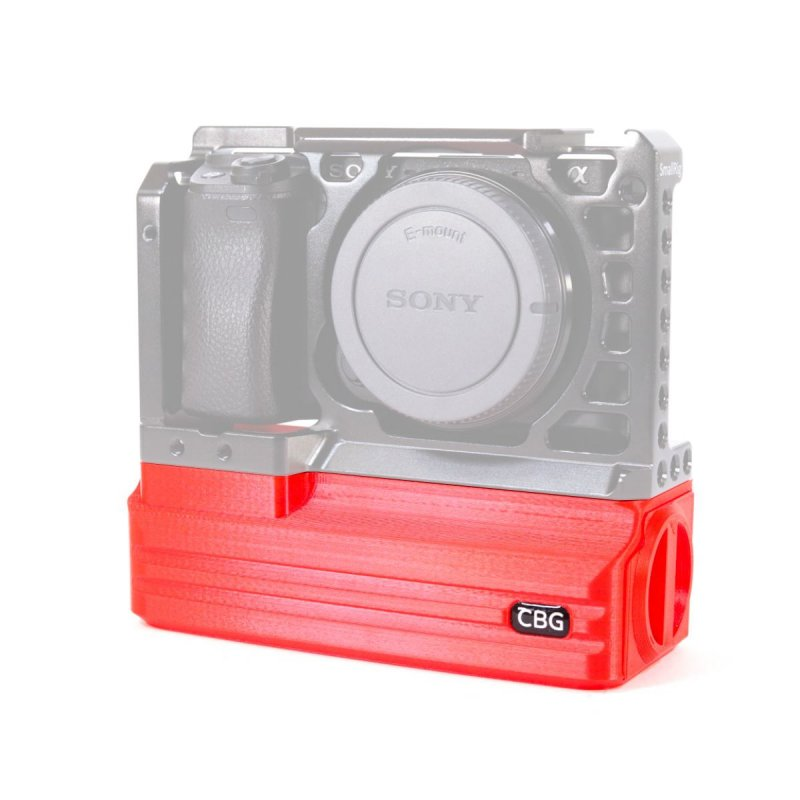 Red Battery Add-On for SmallRig 1889 Sony A6000 A6300 A6400 A6500 Cage