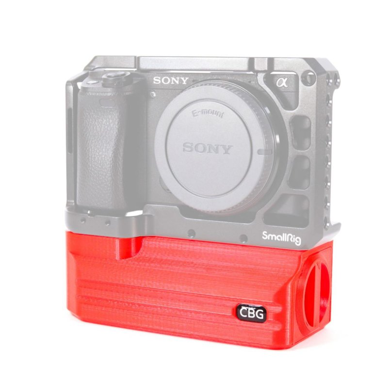 Red Battery Add-On for SmallRig 2310 Sony A6000 A6300 A6400 A6500 Cage