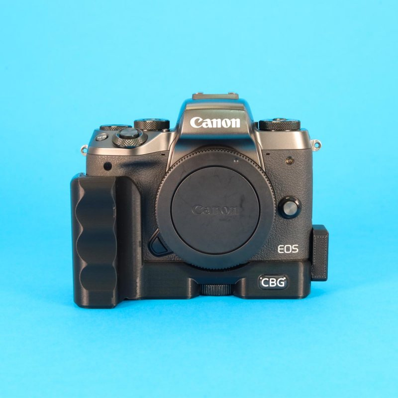 Extension Grip With Extra Cold Shoe for Canon EOS M5