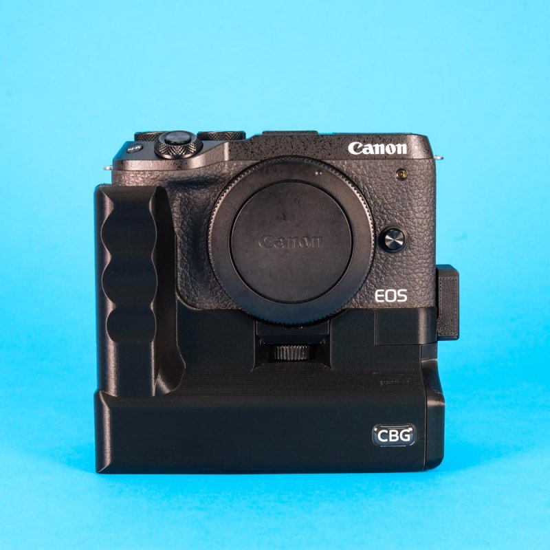 Battery Grip With Extra Cold Shoe for Canon EOS M6 mark II