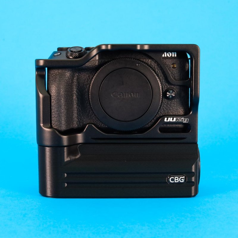 Battery Add-On for Canon EOS M6 mark II UUrig Cage
