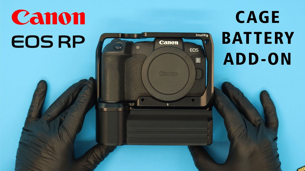Canon EOS RP SmallRig Cage Battery Add-On Assembly Video