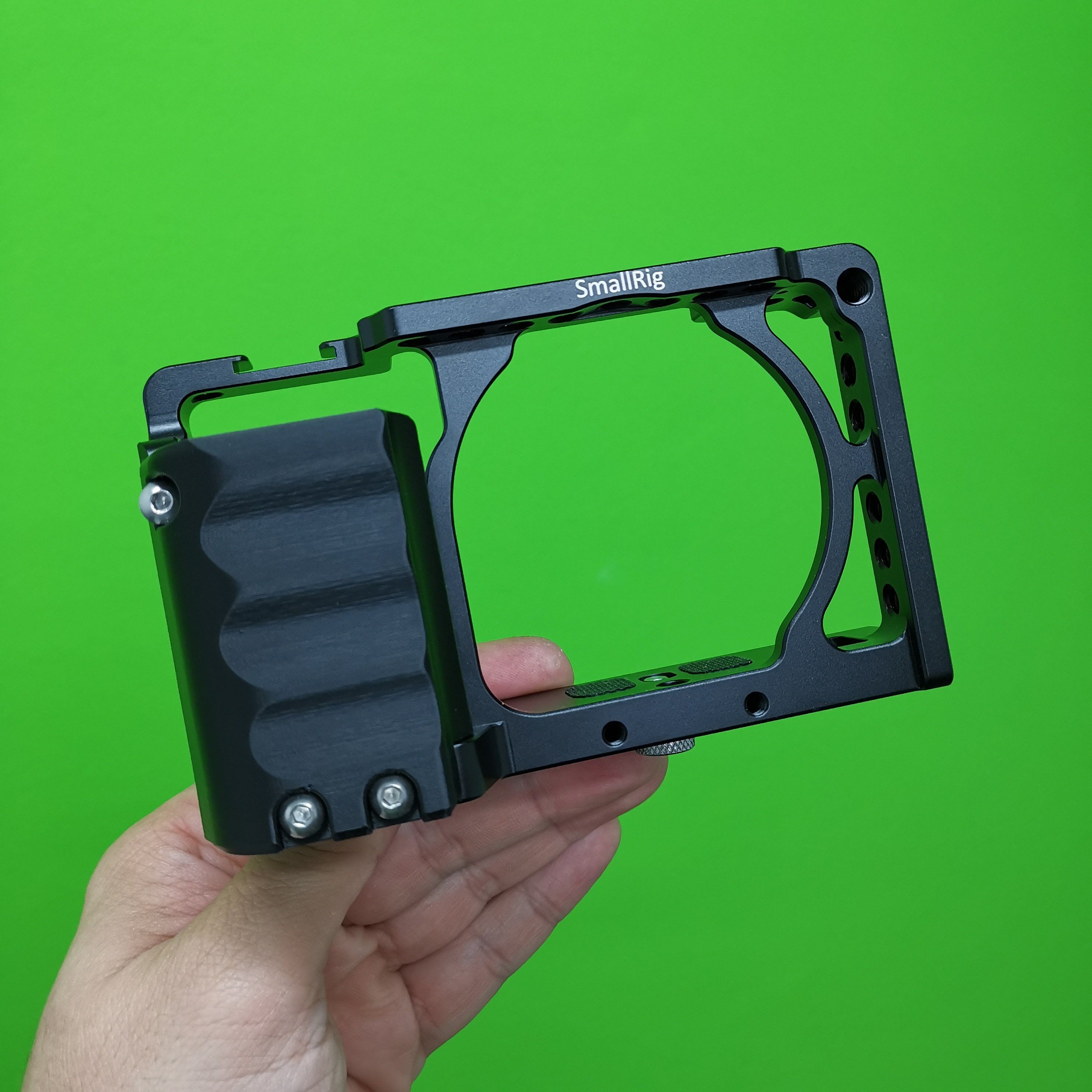 Grip handle for SmallRig 1661 and 1889 Cage for Sony Alpha A6000  A6300  A6400 cameras